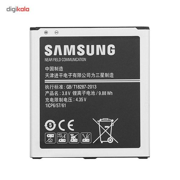 باتری موبایل مدل Galaxy J5 با ظرفیت 2600mAh مناسب برای گوشی موبایل سامسونگ Galaxy J5