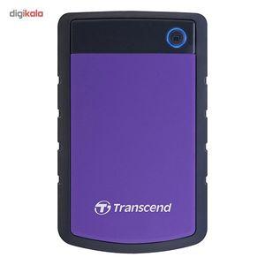 هارددیسک اکسترنال ترنسند مدل StoreJet 25H3 ظرفیت 4 ترابایت  Transcend StoreJet 25H3 Portable Hard