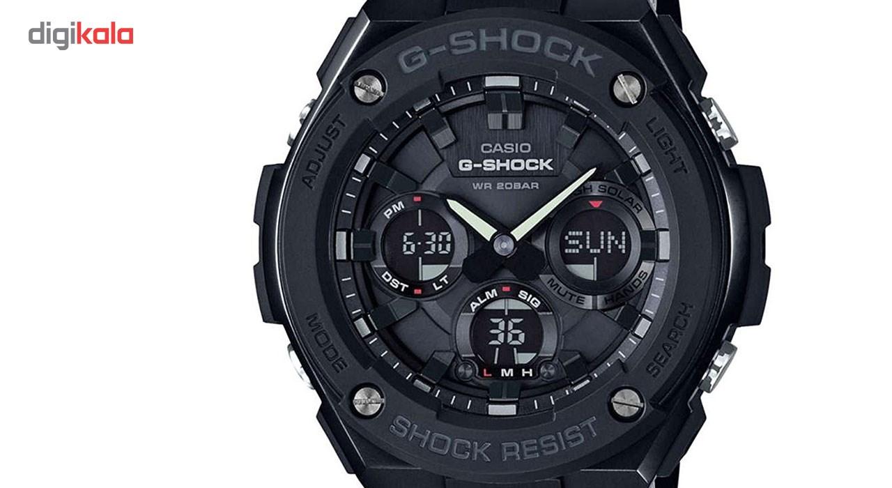 ساعت مچی عقربه ای مردانه کاسیو مدل GST-S100G-1B