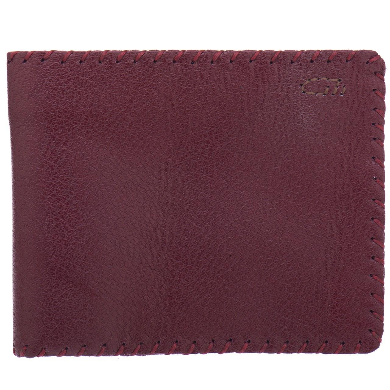 کیف پول چرم طبیعی گالری راد مدل جیبی