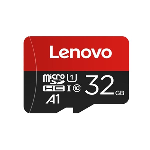 کارت حافظه microSDHC لنوو مدل A1 کلاس 10 استاندارد U1 سرعت 90MBps ظرفیت 32 گیگابایت