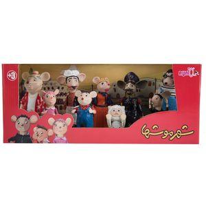 ست عروسک فیگور شهر موش ها سایز 1