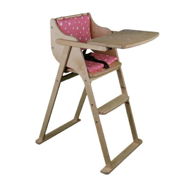 صندلی غذاخوری کودک مدل وود H20 استار P