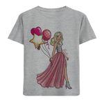 تی شرت دخترانه مدل آستین کوتاه عروس M51