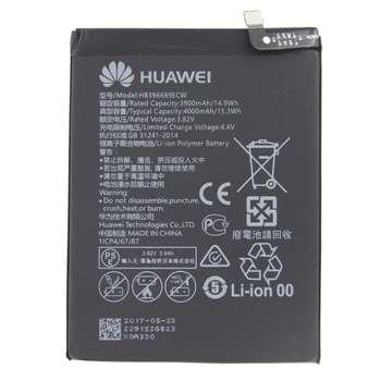 باتری موبایل مدل HB396689ECW3ظرفیت 4000 میلی آمپر ساعت مناسب برای گوشی موبایل هوآوی Mate 9