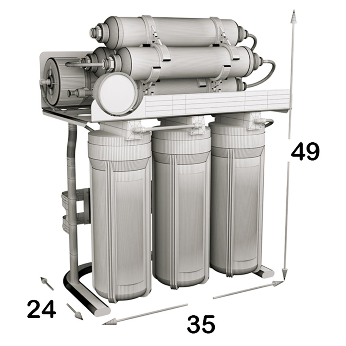دستگاه تصفیه کننده آب اس اس وی مدل MaxTec 2W X800