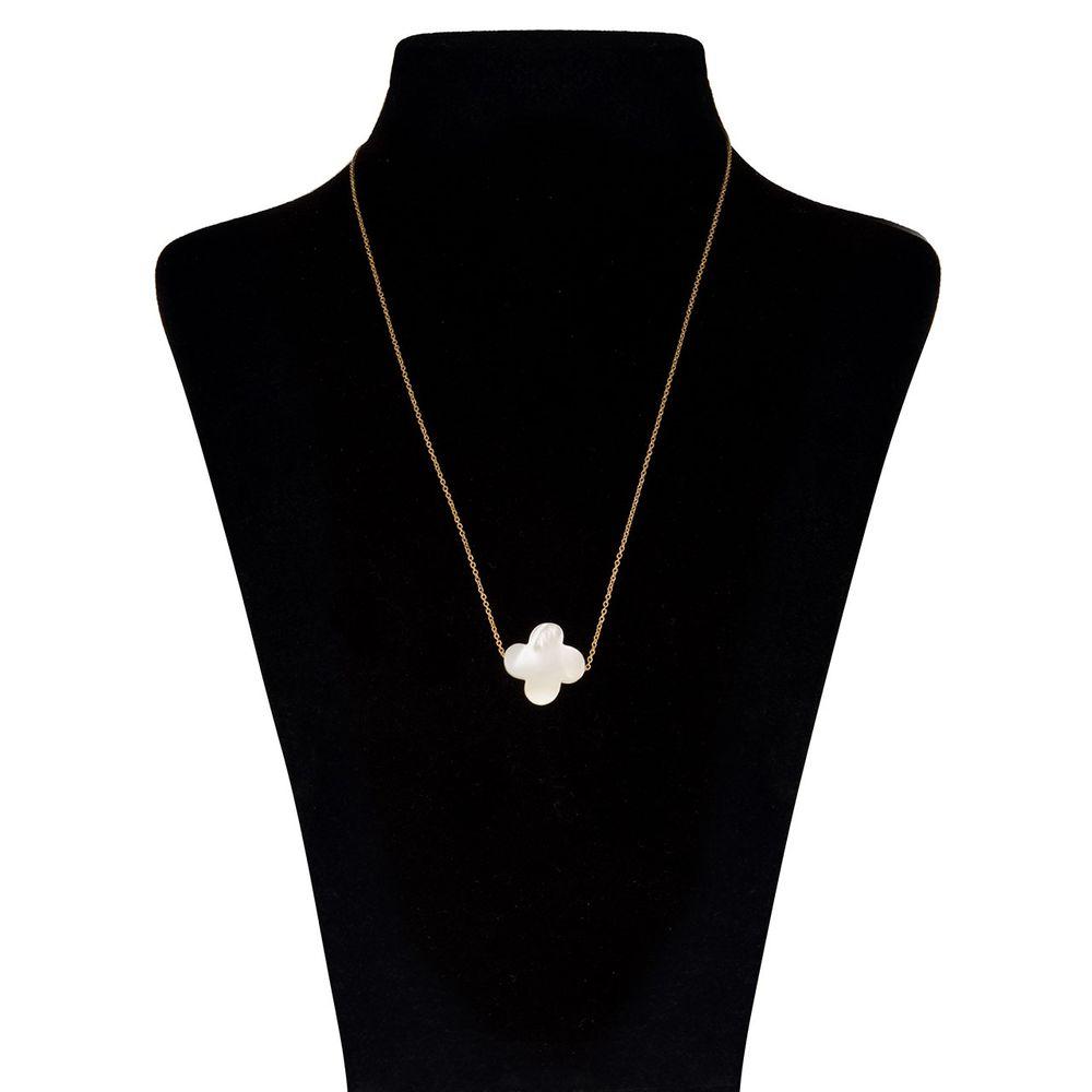 گردنبند طلا 18 عیار ماهک مدل MM0407 - مایا ماهک