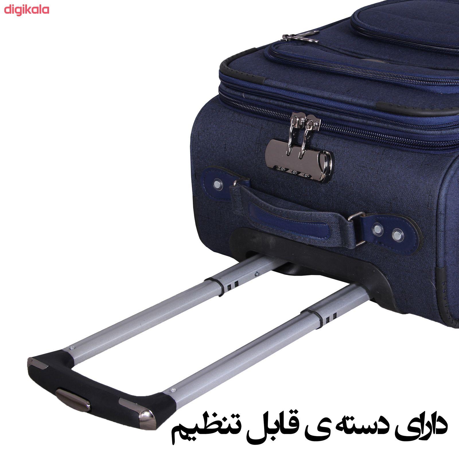 مجموعه سه عددی چمدان کد 2301A main 1 7