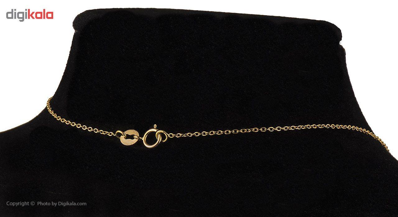 گردنبند طلا 18 عیار ماهک مدل MM0407 - مایا ماهک -  - 5