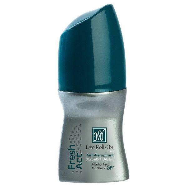 رول ضد تعریق مردانه مای مدل فرش اکت حجم 50 میلی لیتر   MY Fresh Act Roll On Deodorant For Men 50ml