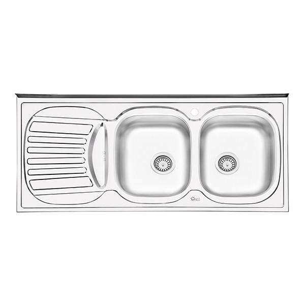 سینک ظرفشویی ایلیا استیل مدل 3510 روکار