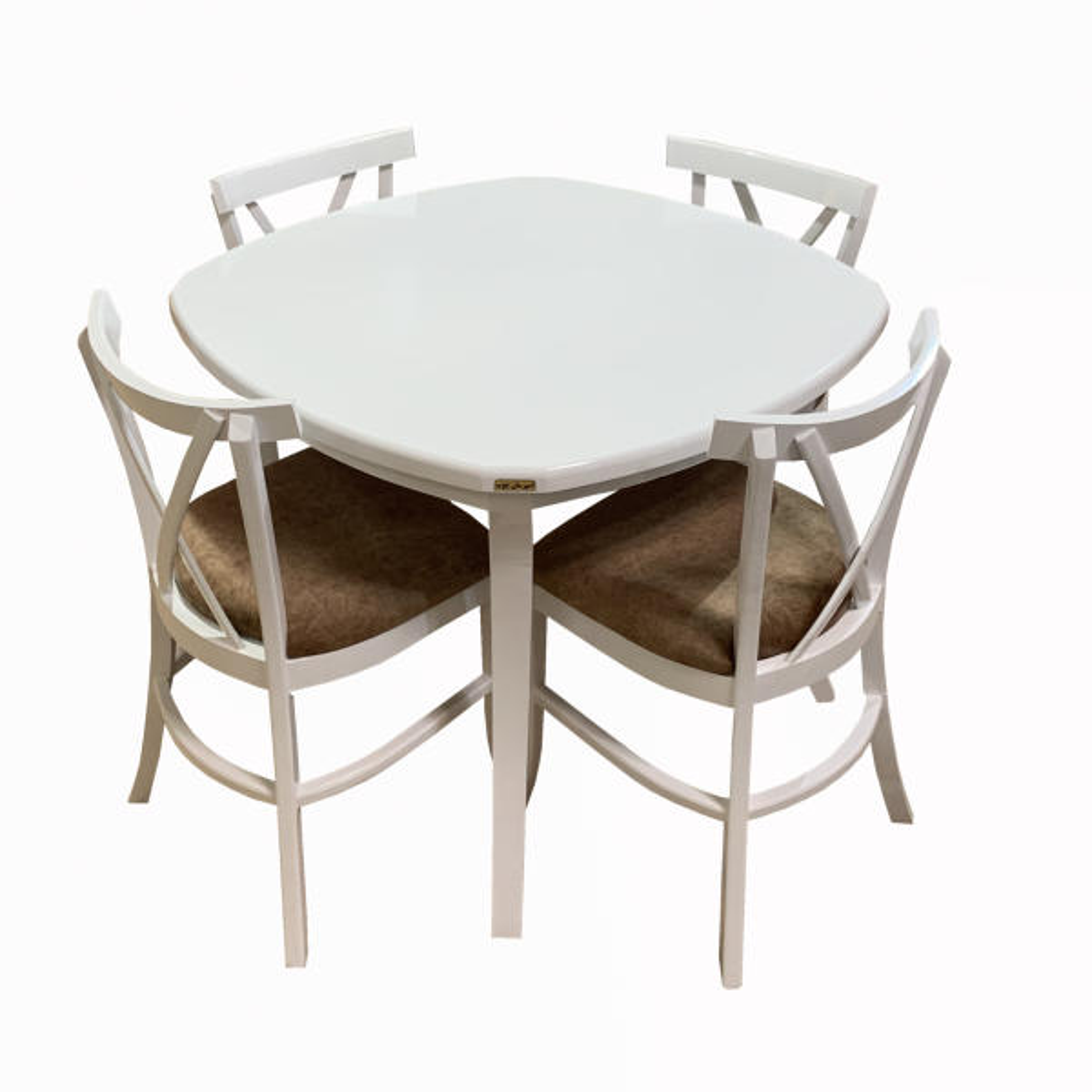 میز و صندلی ناهار خوری اسپرسان چوب کد Sm28