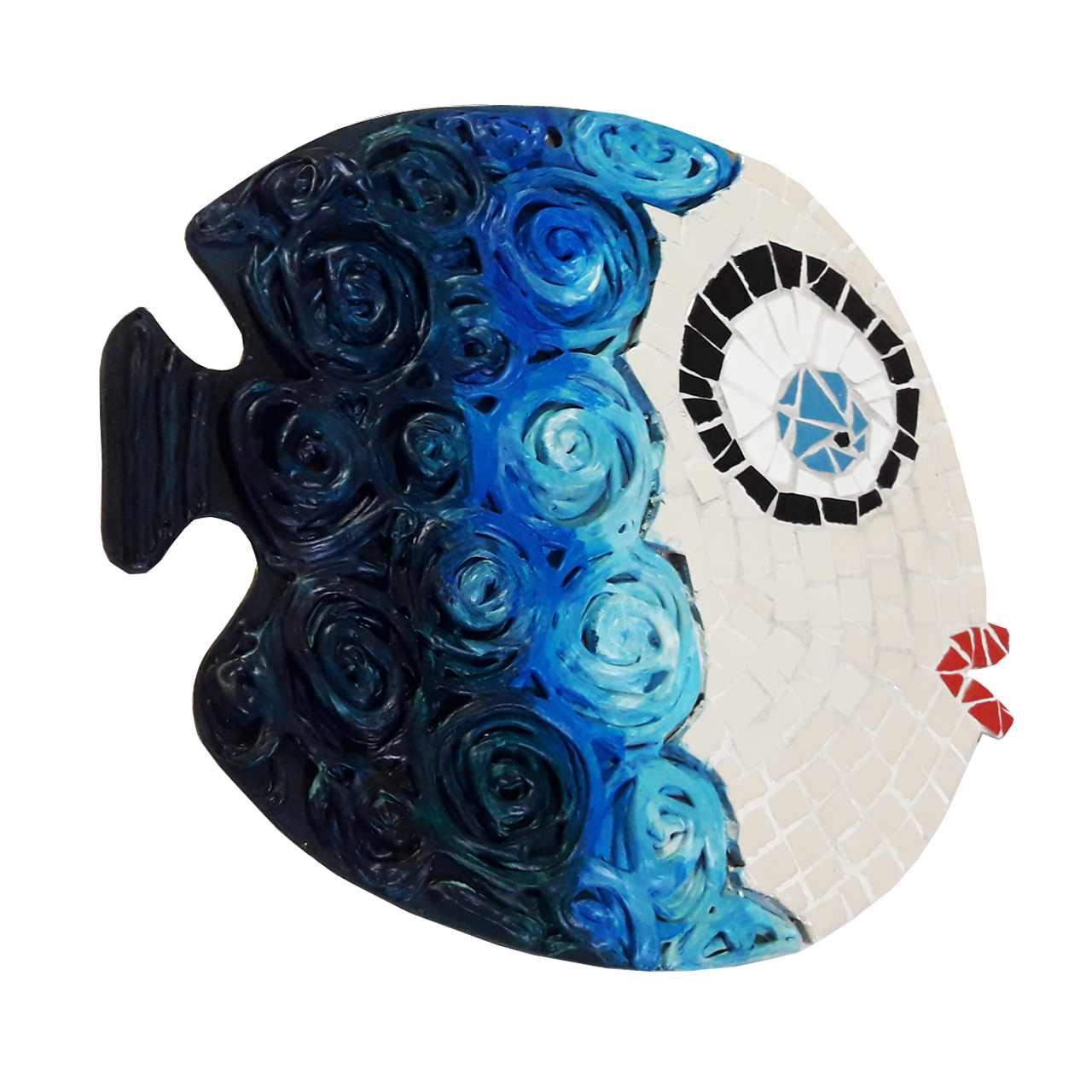 خرید                      تابلو کاشی کاری طرح ماهی کد MA-2-02