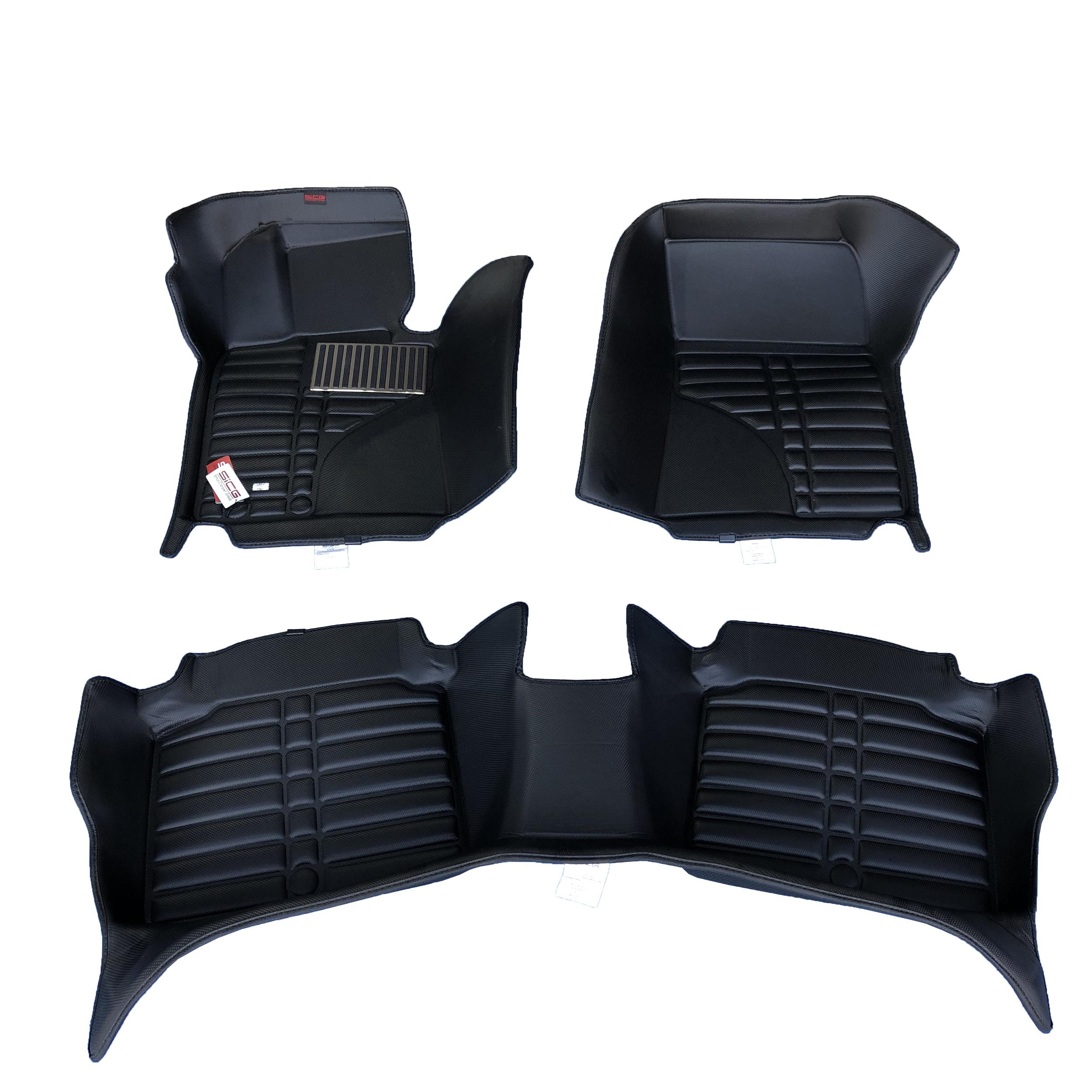 کفپوش سه بعدی خودرو اسایسیجی مدل CBN مناسب برای هیوندایی جنسیس سدان