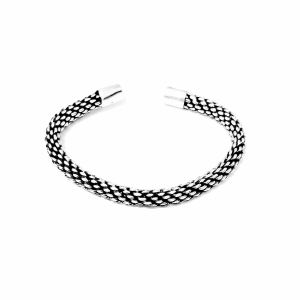 دستبند نقره کد HMR30
