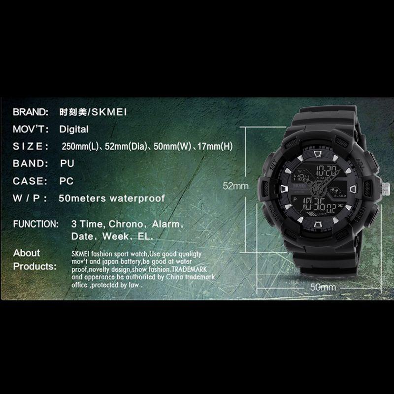 ساعت مچی عقربه ای مردانه اسکمی مدل 1189M-NP -  - 5