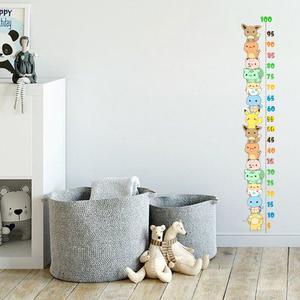 استیکر دیواری کودک مدل اندازه گیری قد طرحپوکومون