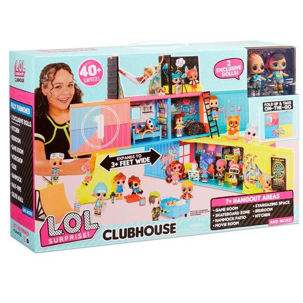 اسباب بازی ال او ال سوپرایز مدل خانه عروسک