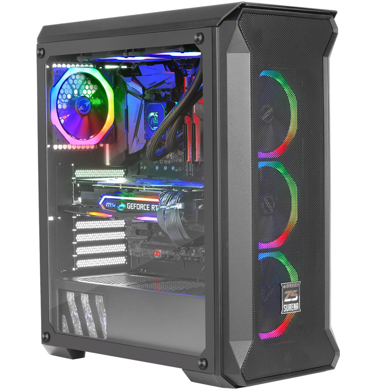کیس کامپیوتر گرین مدل Surena z5