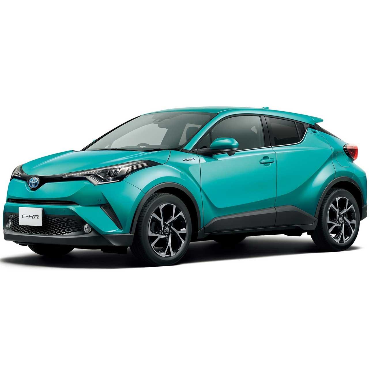 خودرو تویوتا C-HR اتوماتیک سال 2017