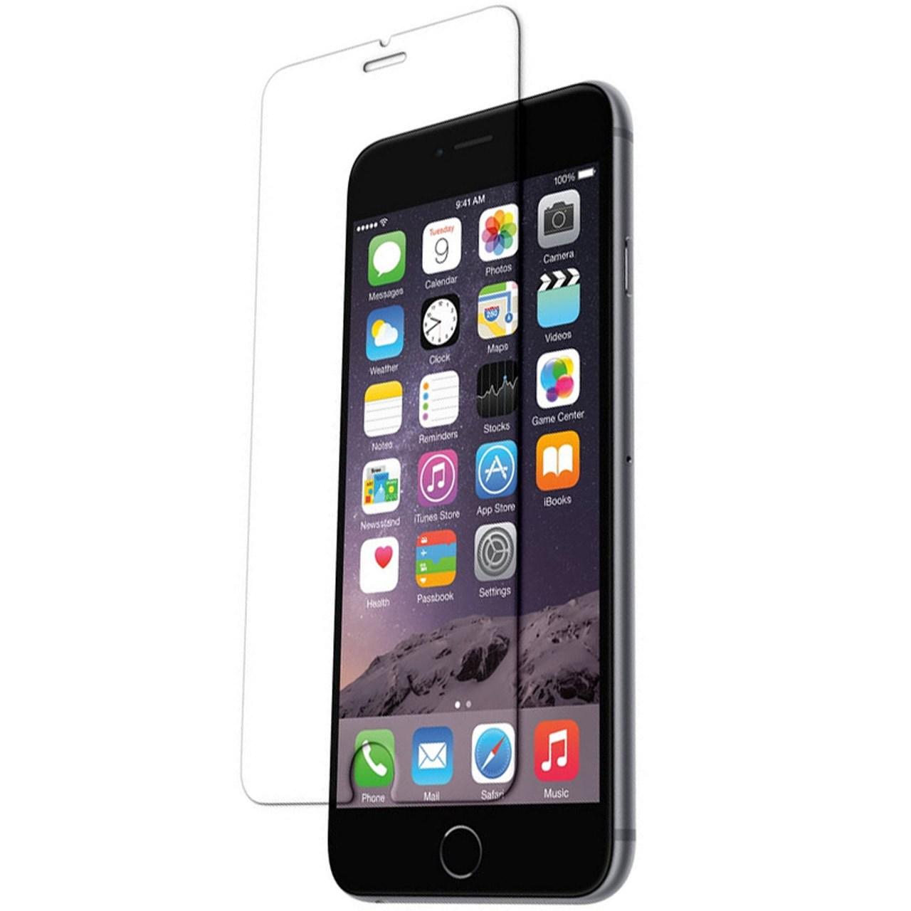 محافظ صفحه نمایش شیشه ای اس اچ موبایل مناسب برای گوشی موبایل آیفون 6/6s              ( قیمت و خرید)