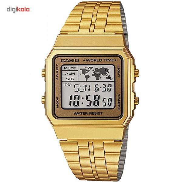 خرید ساعت مچی دیجیتال مردانه کاسیو مدل A500WGA-9DF | ساعت مچی
