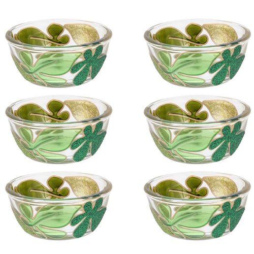 مجموعه ظروف هفت سین شیشه ای گالری انار کد 134113