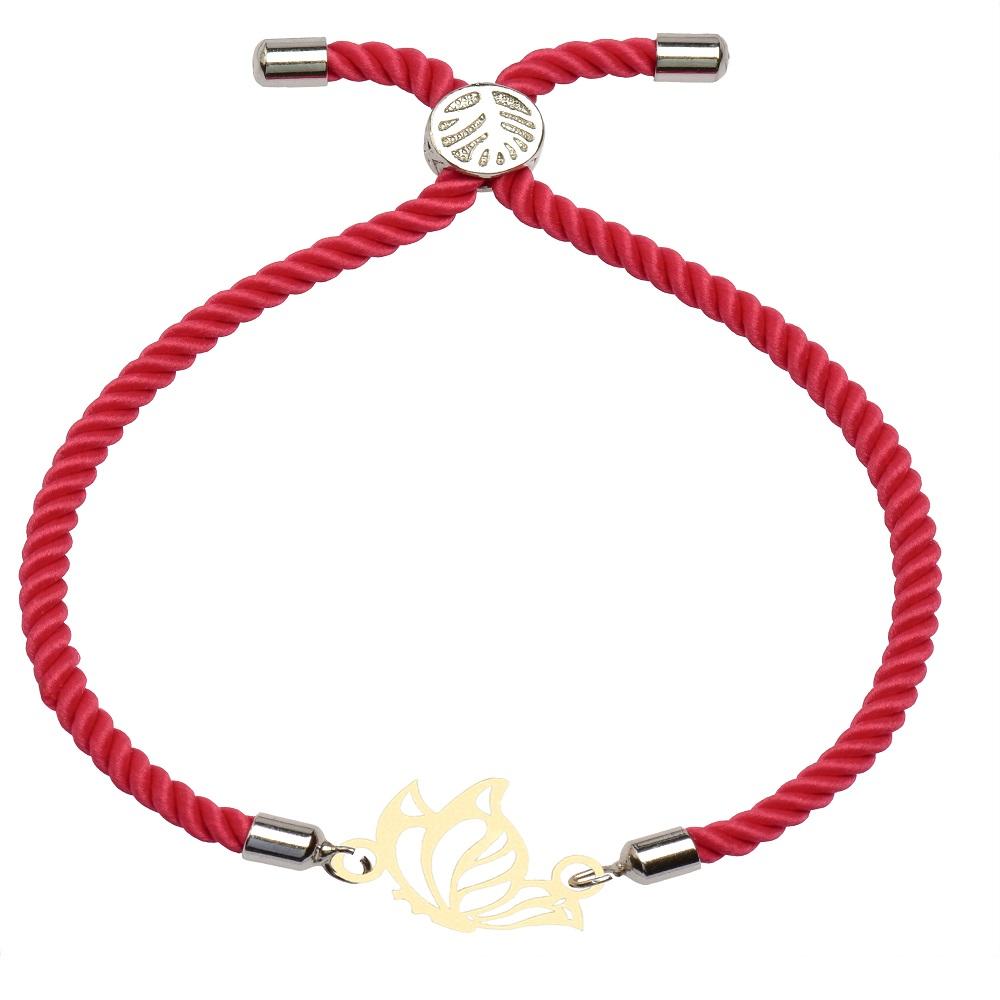 دستبند زنانه کرابو طرح پروانه مدل kb9-51