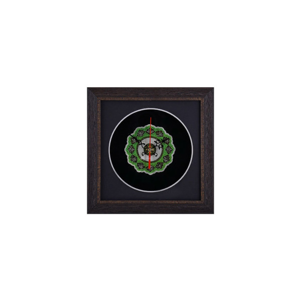 ساعت نقره گالری گنجینه طرح ائمه اطهار مدل 00-33 سایز کوچک