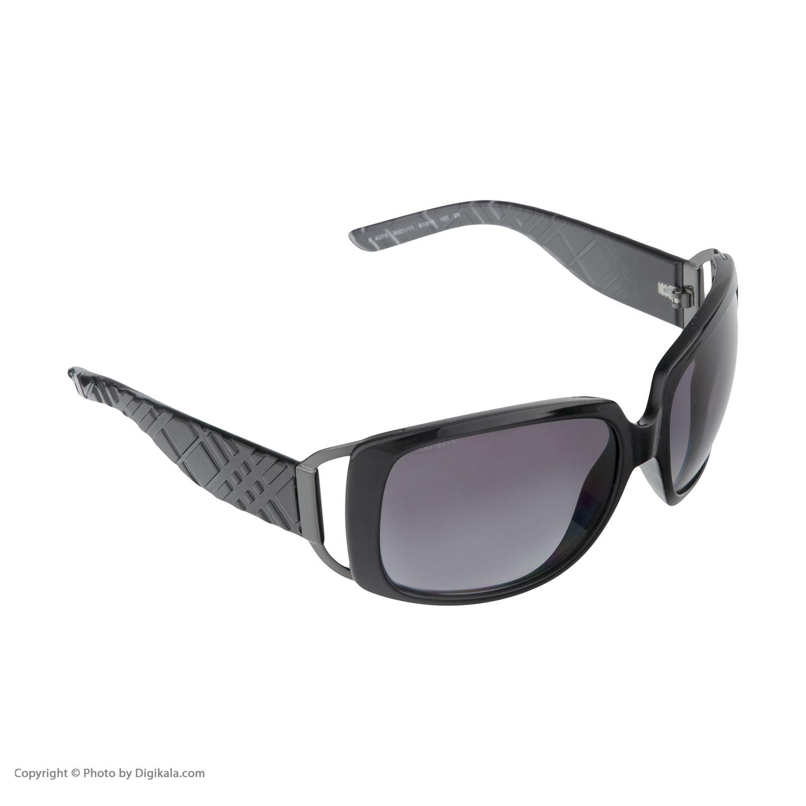 عینک آفتابی زنانه بربری مدل BE 4070S 300111 61 -  - 4
