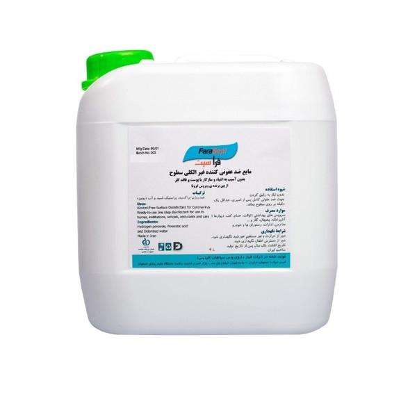 مایع ضدعفونی کننده سطوح فراسپت مدل 001 حجم 4 لیتر