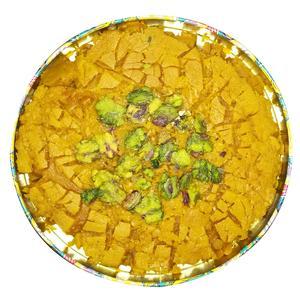 سوهان تخت کره ای زعفرانی سوغات قم - 500 گرم