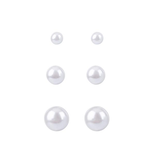 گوشواره زنانه کد M02 مجموعه 3 عددی