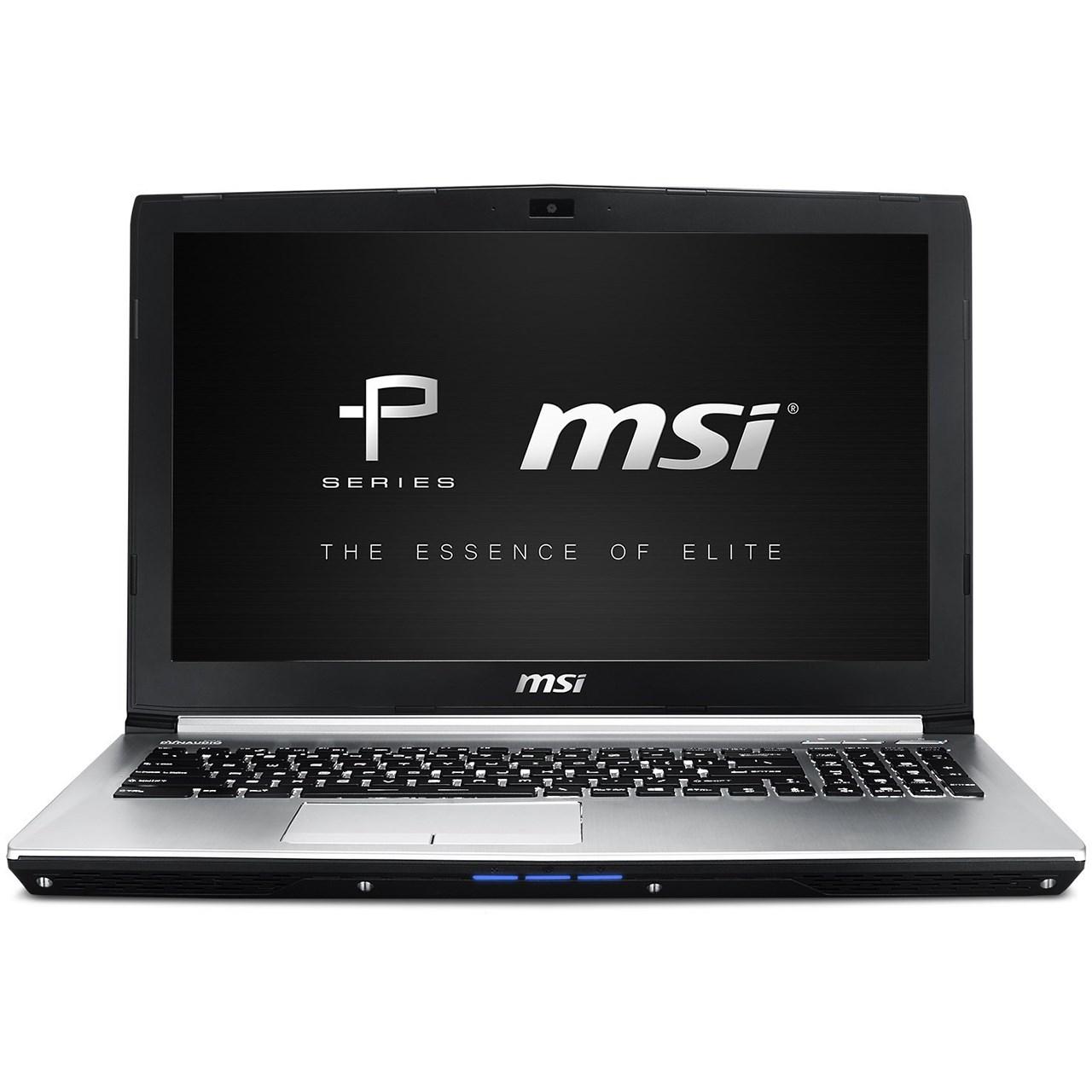 لپ تاپ 15 اینچی ام اس آی مدل PE60 6QE