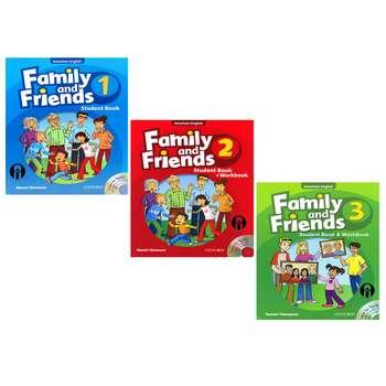 کتاب Family and Friends اثر Naomi Simmons انتشارات الوندپویان جلد 1 تا 3