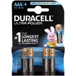 باتری نیم قلمی دوراسل مدل Ultra Power Duracell With Power Check بسته 4 عددی
