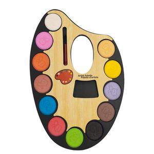 آبرنگ 12 رنگ مدل پالتی