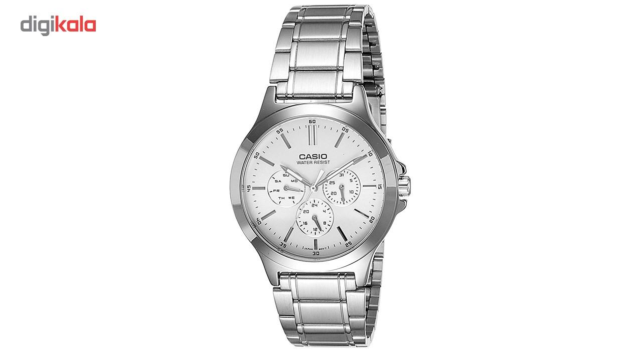 خرید ساعت مچی عقربه ای مردانه کاسیو مدل MTP-V300D-7AUDF | ساعت مچی