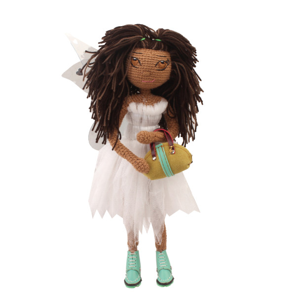 عروسک بافتنی پریا مدل Kimia03