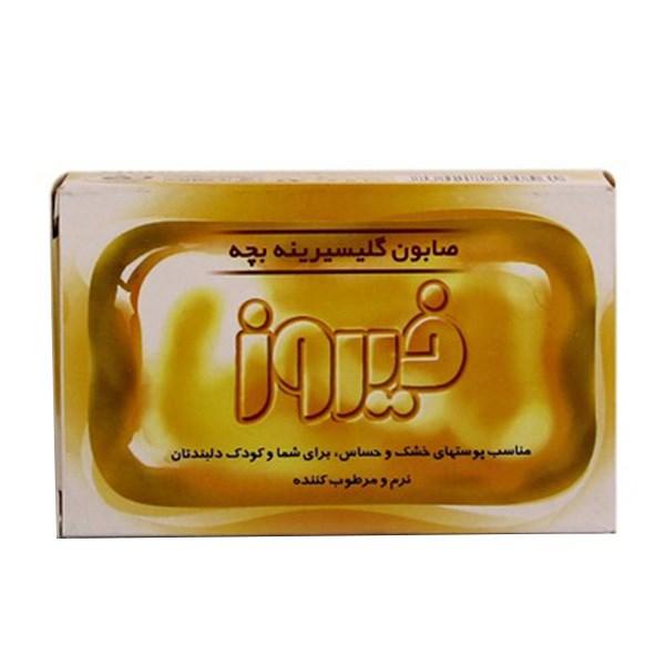 خرید                      صابون بچه گلیسیرینه فیروز مقدار 75 گرم