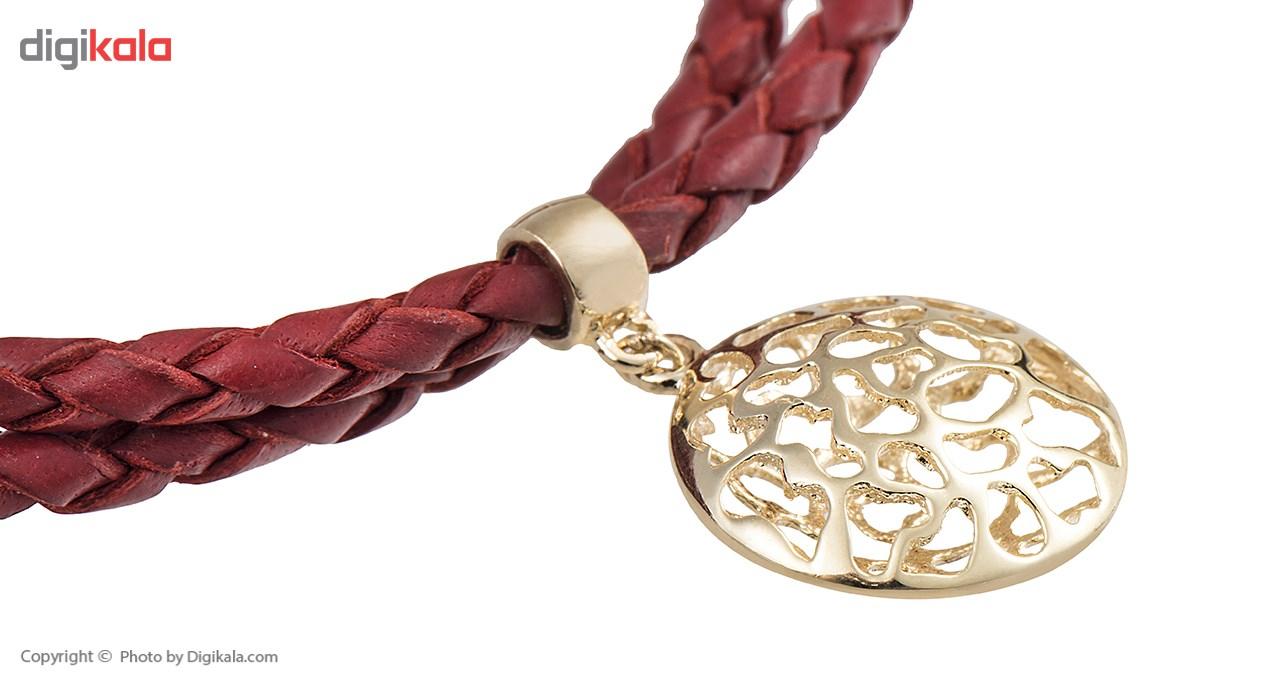دستبند طلا 18 عیار تاج درسا مدل 419R -  - 3