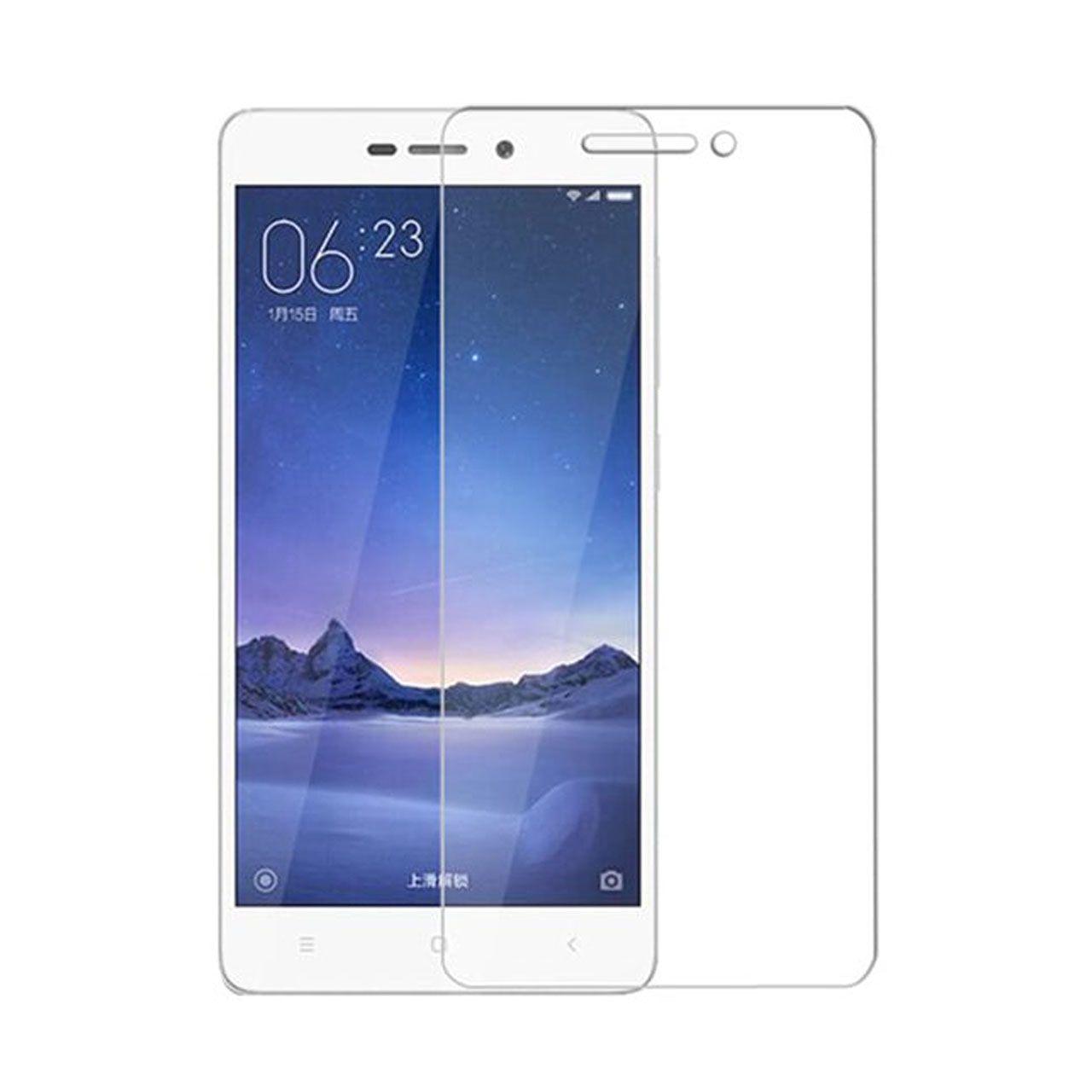 محافظ صفحه نمایش شیشه ای مدل تمپرد مناسب برای گوشی موبایل شیاومی Redmi 3s main 1 1