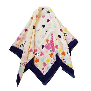 روسری دخترانه مگنولیا مدل پاپیون کد san924