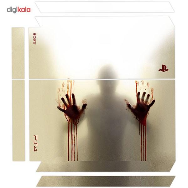برچسب عمودی پلی استیشن 4 ونسونی طرح Bloody Hands