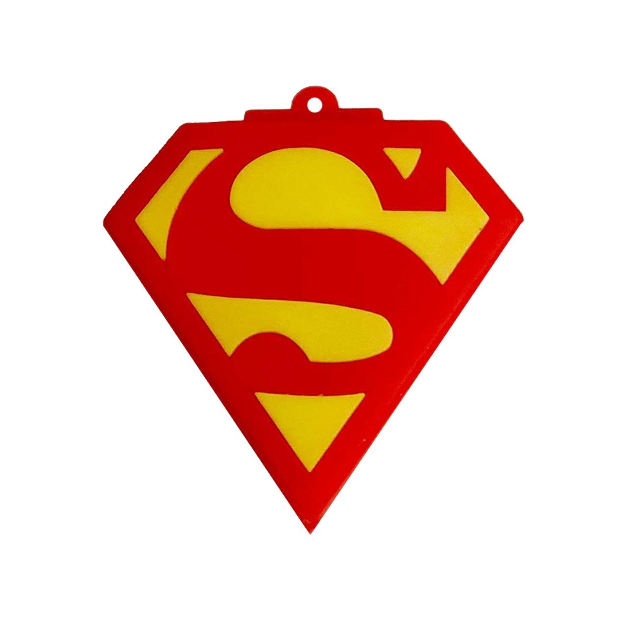 بررسی و {خرید با تخفیف} فلش مموری طرح Superman مدل DPL1202 ظرفیت 64 گیگابایت اصل