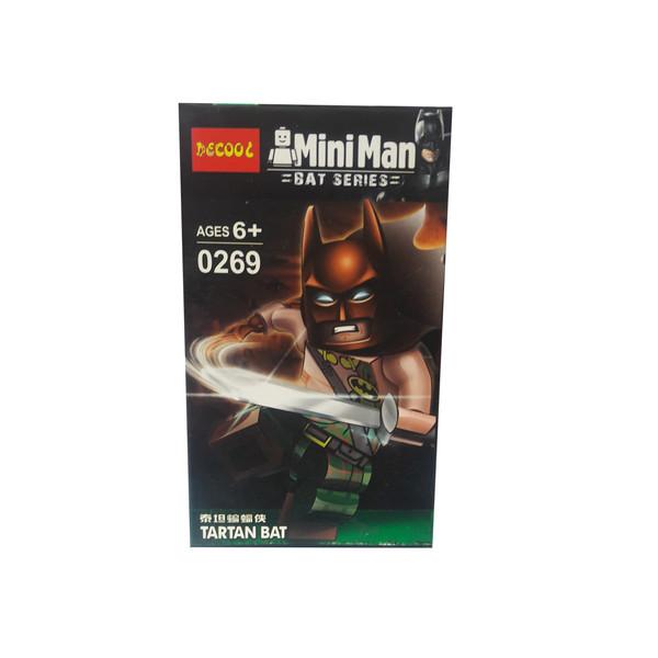 ساختنی دکول مدل Tartan Bat کد 0269