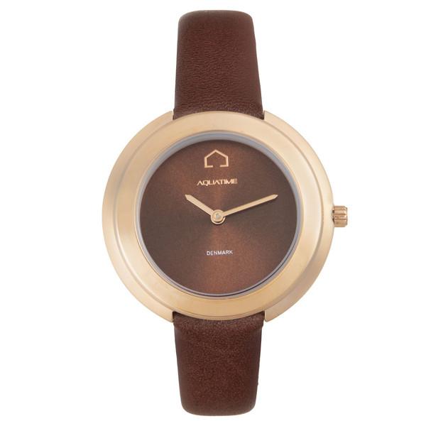 ساعت مچی عقربه ای زنانه آکوآ تایم مدل 3020905