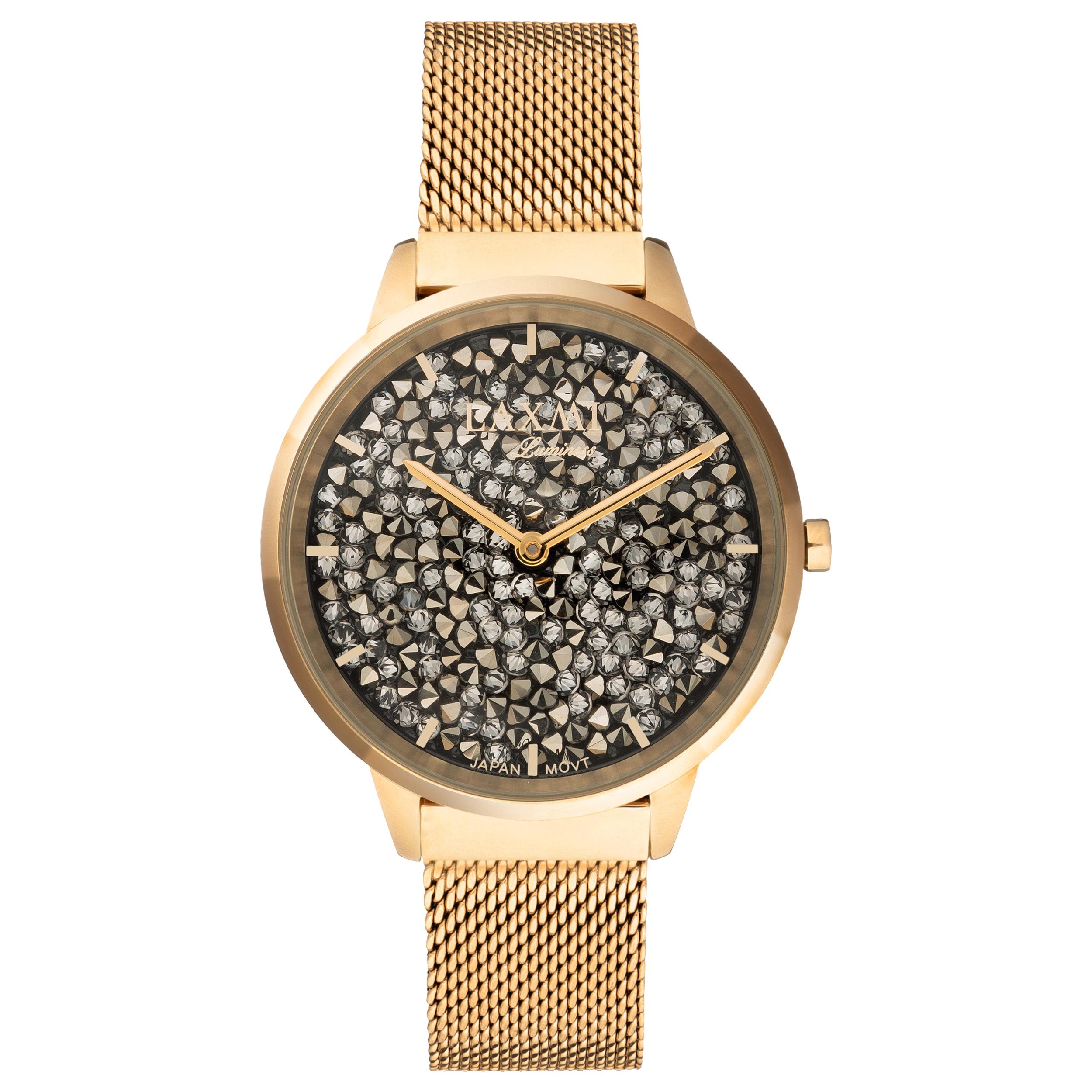 ساعت مچی عقربه ای زنانه لاکسمی کد 2-8077              ارزان