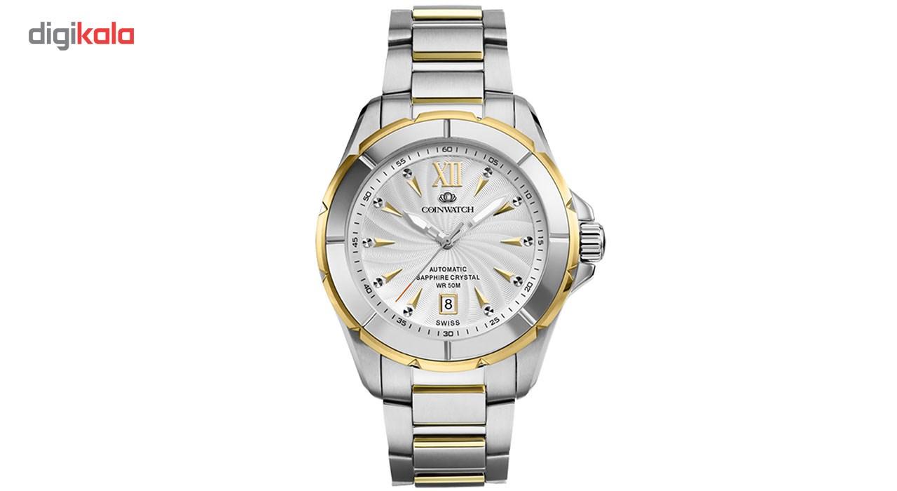 خرید ساعت مچی عقربه ای مردانه کوین واچ مدل C120TWH