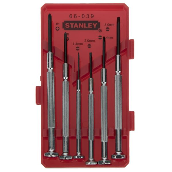 مجموعه 6 عددی پیچ گوشتی استنلی مدل STHT66039-8